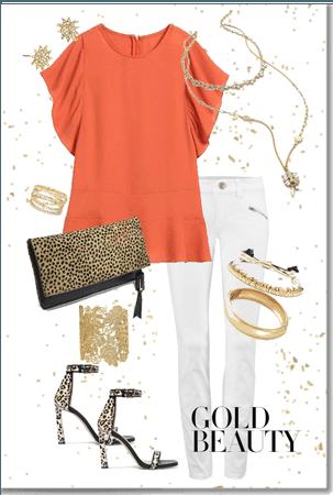 Gold & Leopard Beauty