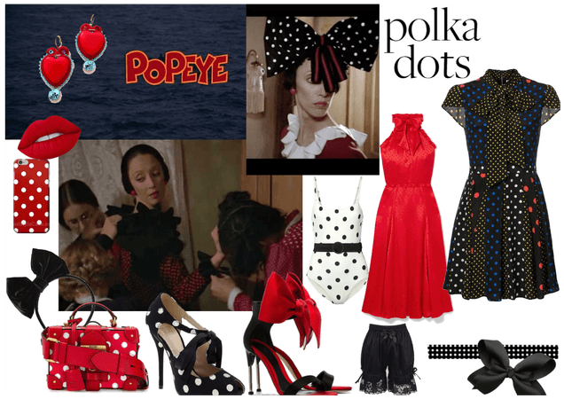 Popeye's Polka Dot Love