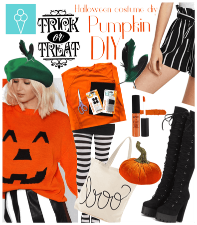 # Halloween costume Diy challenge # Shoplook # Pum