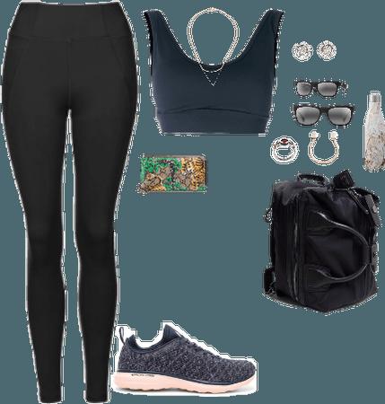 Gym and coffee