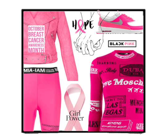 i wear pink for