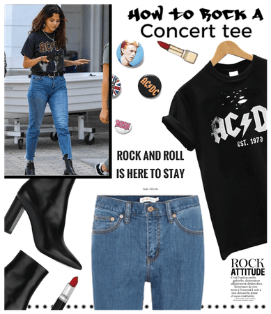 How to Rock a Concert tee