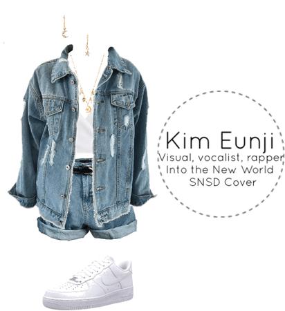 Eunji Pre-debut Special Clip - Into the New World Cover
