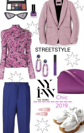 chic street Style NYFW 2019