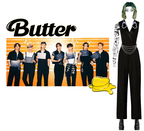 BTS Butter Concept Photos
