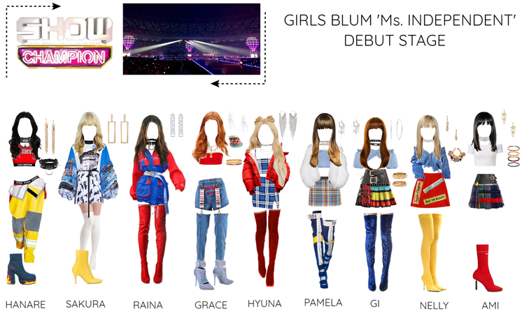 GIRLS BLUM 'Ms. INDEPENDENT'' DEBUT STAGE