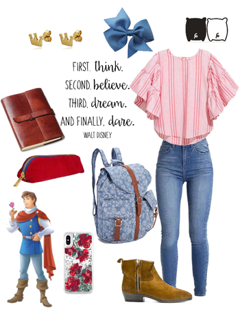 Disney The Prince Inspired Back to School