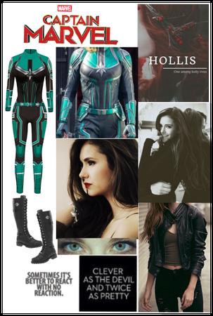 Avengers Captain Marvel Oc Hollis