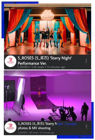 5ROSES 'Starry Night' Performance & BTS