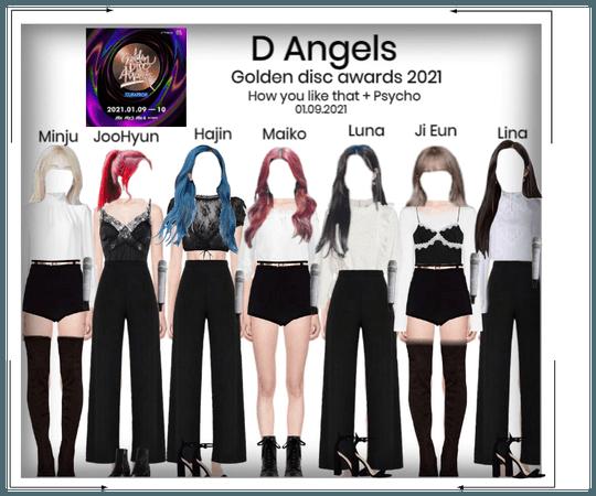 D Angels Golden Disc Awards 2021 Performance