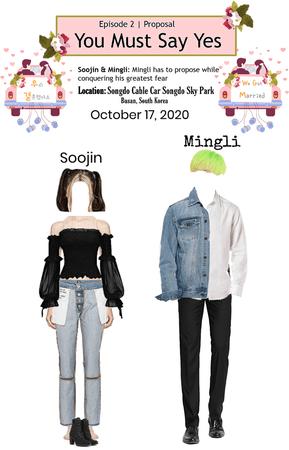 Shadow (Mingli) & Crushes (Soojin) We Got Married Episode 2
