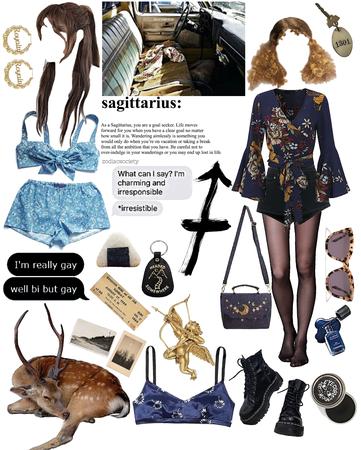 Sagittarius aesthetic✨