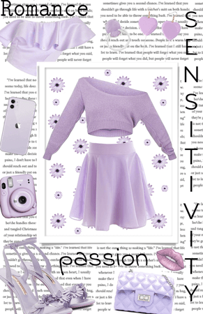 passion, romance, and sensitivity ~ light purple | COLOR STATEMENT: PURPLE |