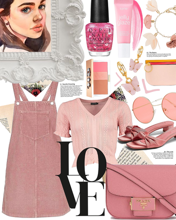 feeling pink | @looksbylyla #contest
