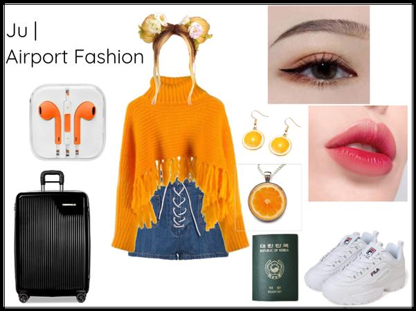 Ju Airport Fashion | Dallas Arrival
