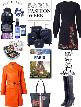 what to pack.  Paris fashion week