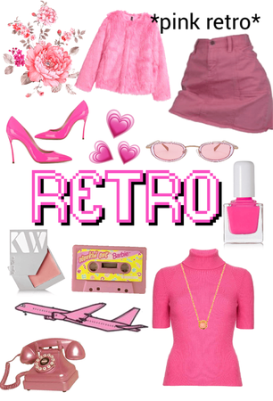 pink retro👛