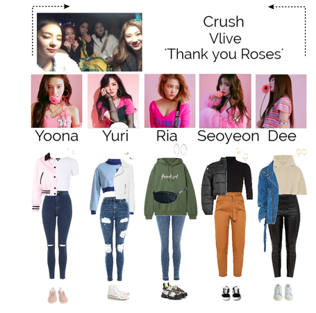 Vlive 'Thank you Roses'
