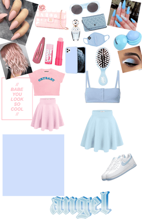 baby blue 💙🦋🐬🐳 baby pink 🌸🐷👙🎀🐖👚👛