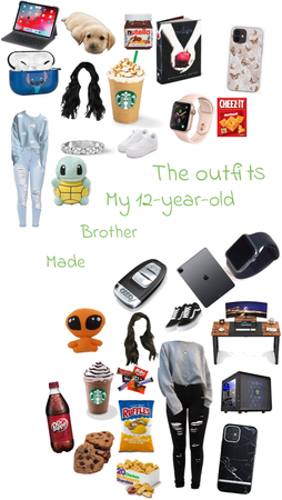 Outfits My Brother Designed