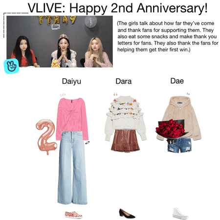 {3D} VLIVE: Happy 2nd Anniversary!