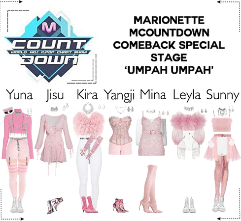 MARIONETTE (마리오네트) [MCountdown] Special Stage