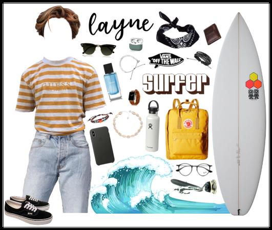 My OC: Layne Moodboard