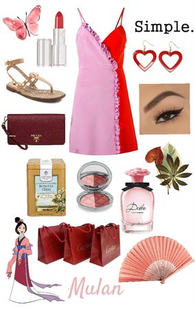Mulan's Simple Summer Dress