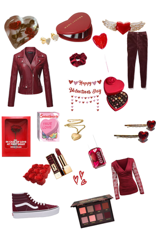 Casual Valentine's day outfit idea 1