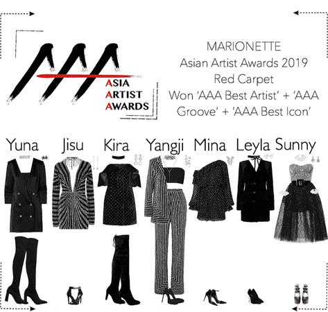 MARIONETTE (마리오네트) Asia Artist Awards 2019