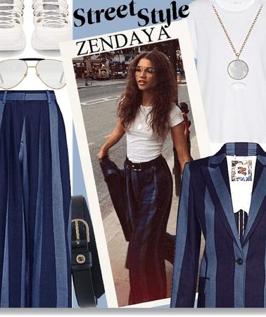 Zendaya - street style