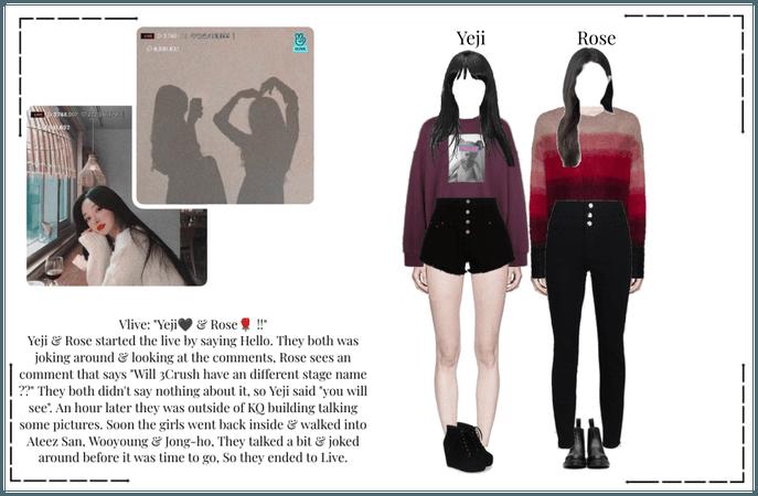 Crushes (호감) [Yeji & Rose] Surprise Vlive