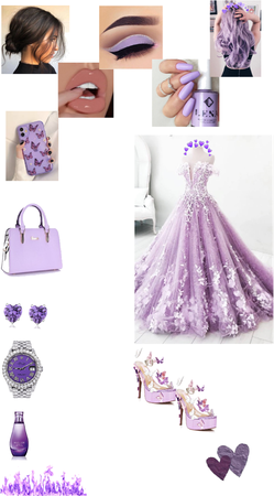 purple beauty style💜