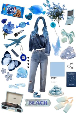 feelin' blue 💙