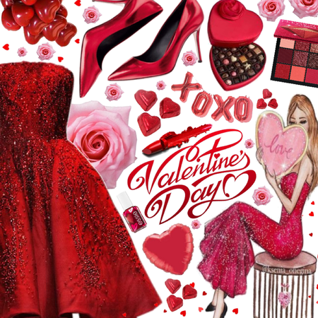 XOXO Valentine's Day 💋❤️💋