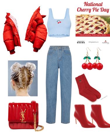 cherry time 🍒🥓