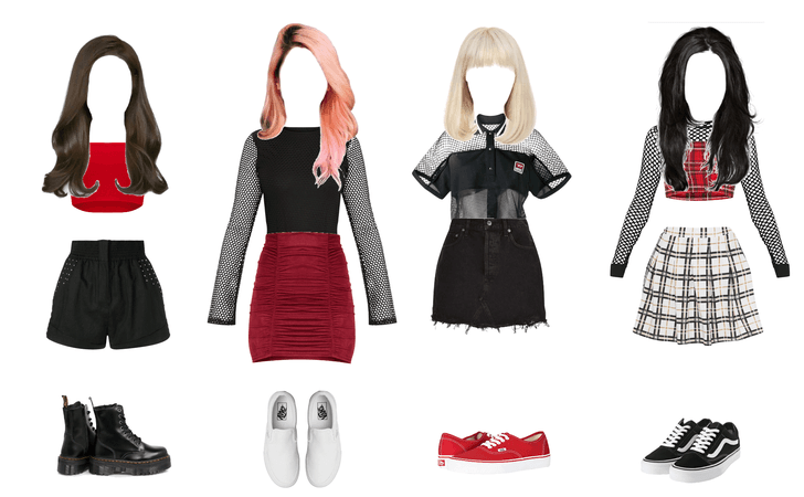 blackpink outfit vision