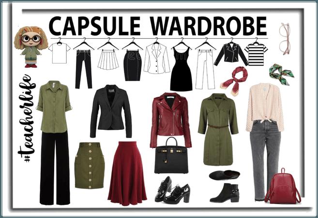 Teacher - Capsule Wardrobe