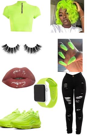 Lime Green🥴! (check description).