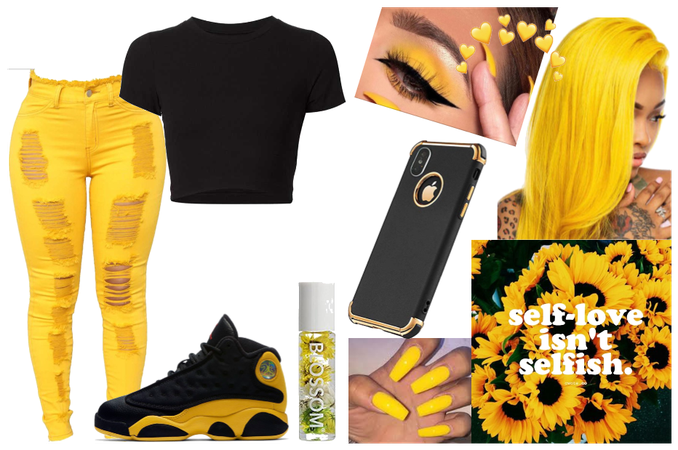 yellow fit👑✌♌✌🙌