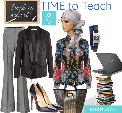 # Time to teach # back to school # shoplook