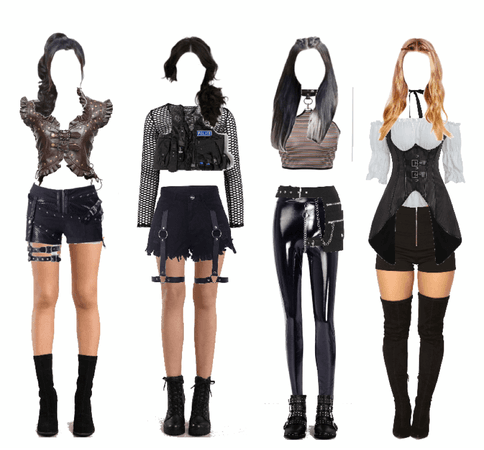 grunge stage outfit