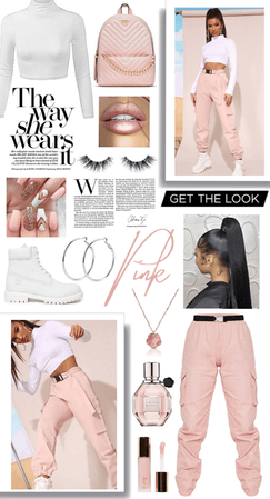 Get the look: Light pink