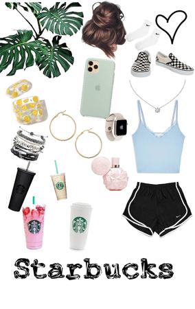 Starbucks VS VSCO girl