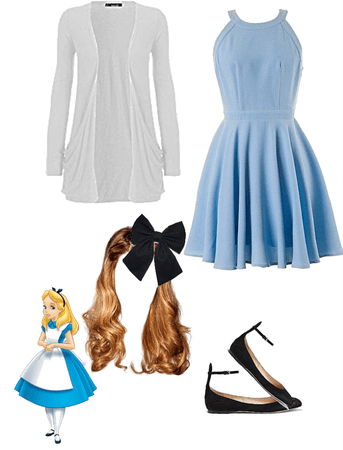 Katelyn Disney bounding as alice