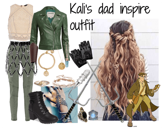 Milo Thatch inspired Outfit