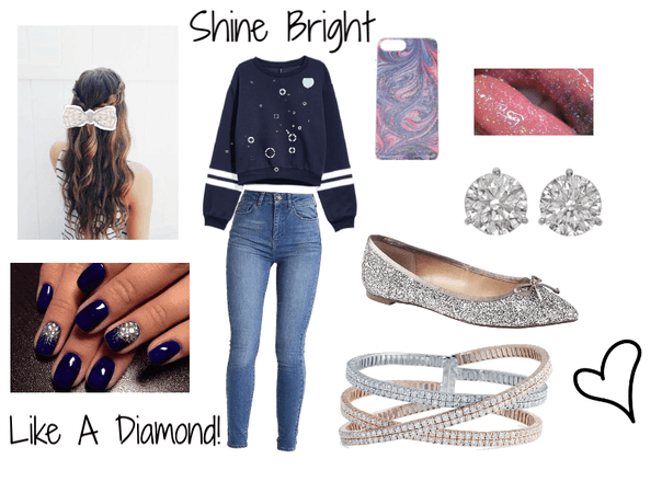 Shining Bright Like A Diamond