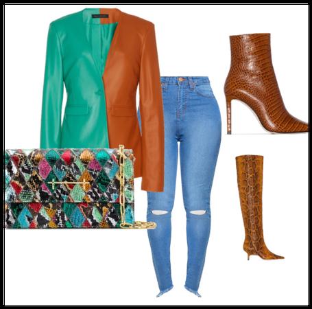 leather blazer fit2