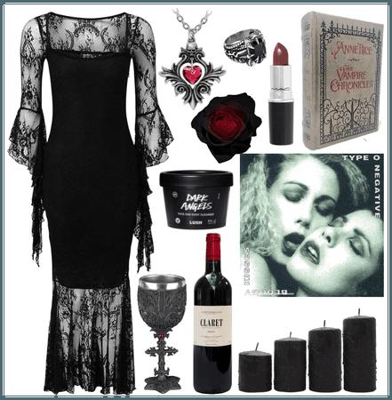 90's Romantic Goth