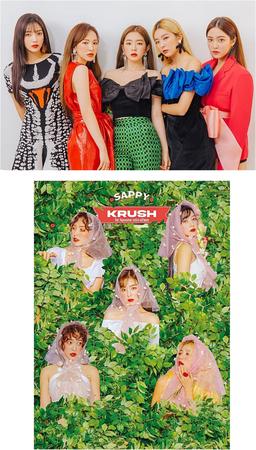 KRUSH Sappy Group Concept Photos